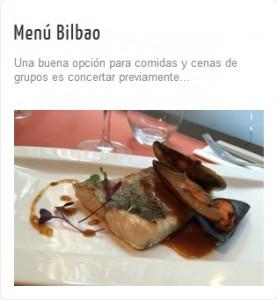 Menú Bilbao